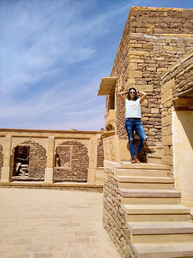 Nubia Z11 miniS | Akanksha Redhu | exploring fort full front