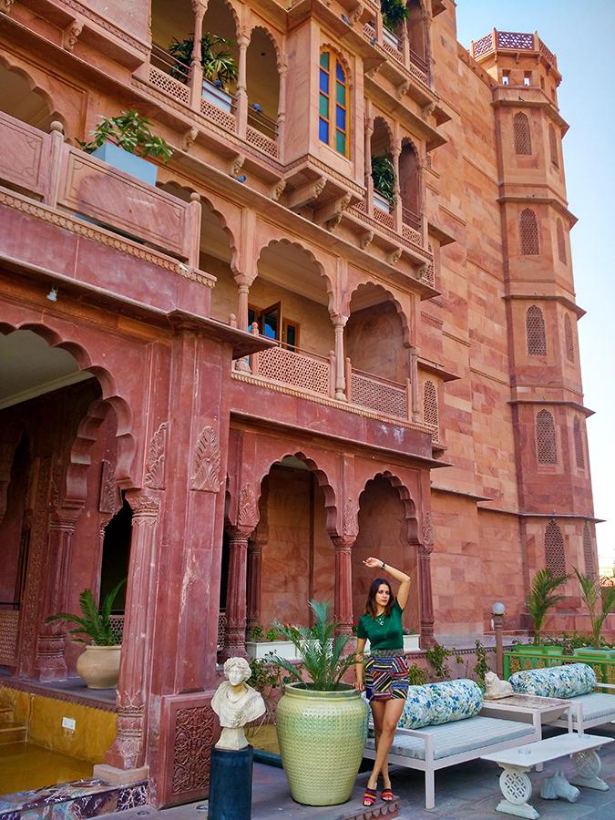 Narendra Bhawan | Akanksha Redhu | full front far hotel building