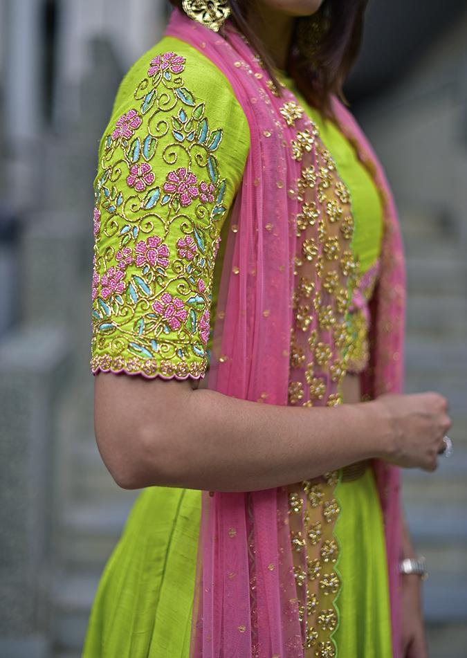Date My Closet | Akanksha Redhu | sleeve details