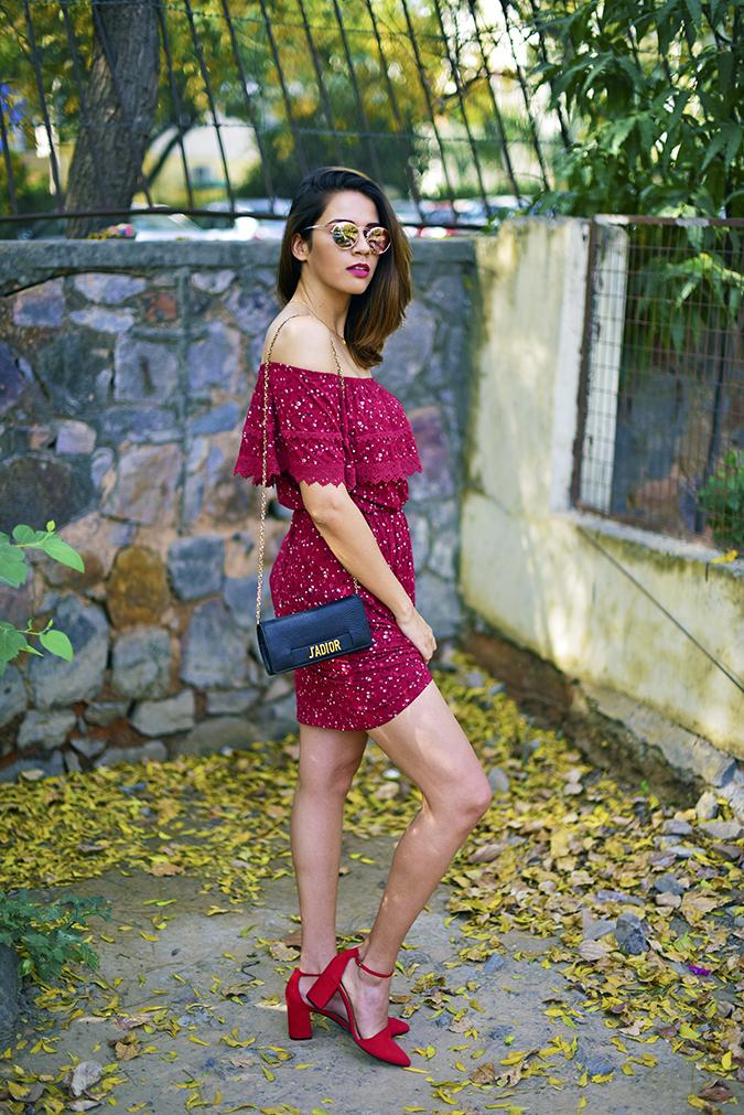 Max Fashion   Akanksha Redhu   full side pulling dress up