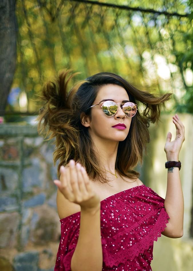 Max Fashion   Akanksha Redhu   hair flip