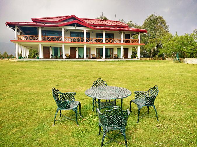 DYO The Organic Village Resort   Akanksha Redhu   chairs garden resort