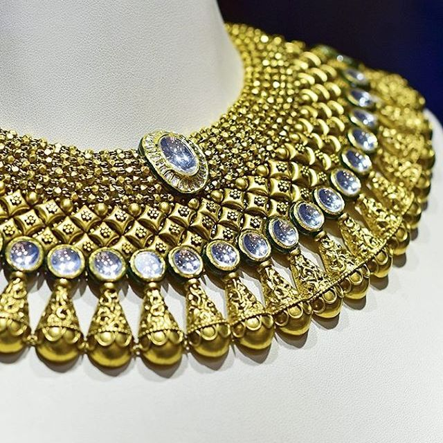 Details of this stunning choker from the Rivaah Collection byhellip