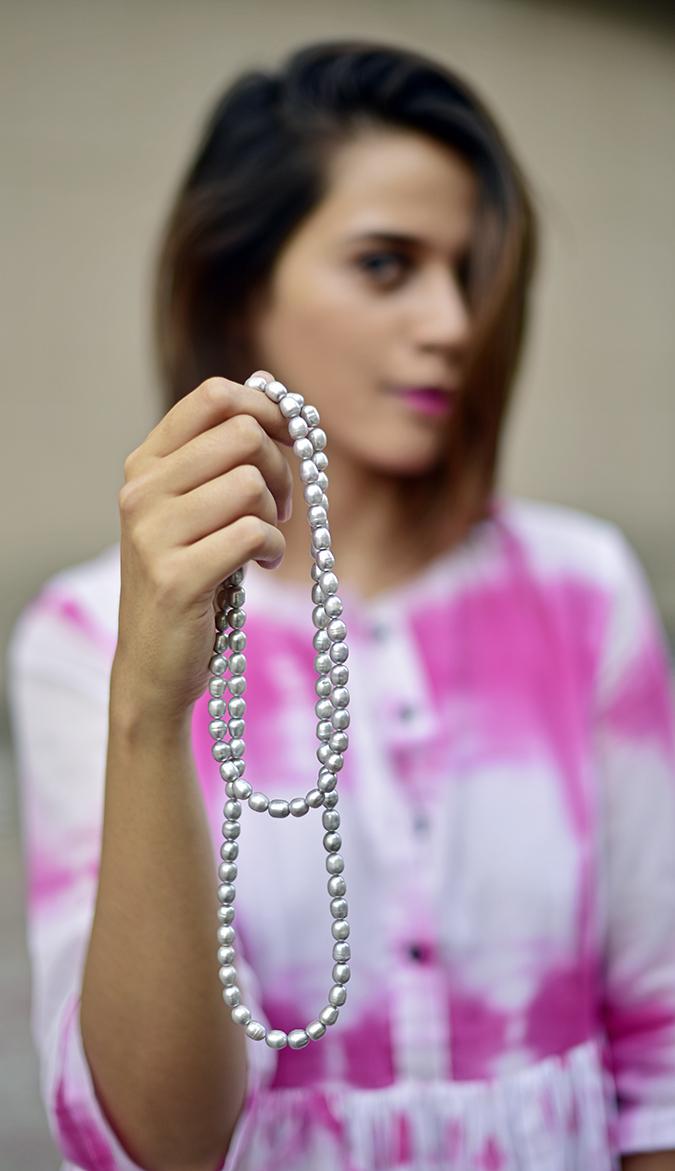 Fallaknumaa | Akanksha Redhu | pearls in hand focus