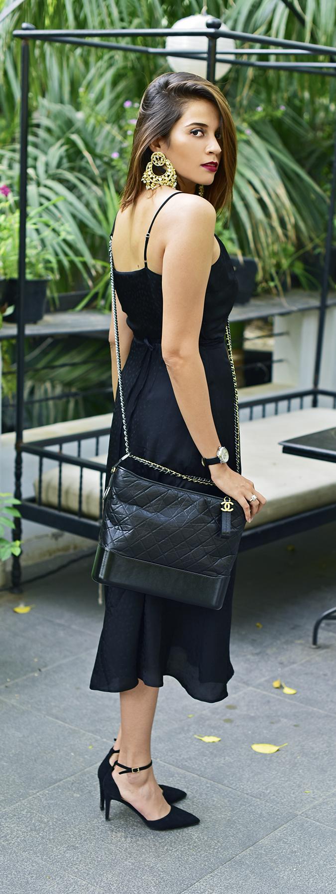 Chanel Gabrielle Bag | Akanksha Redhu upstairs full side long