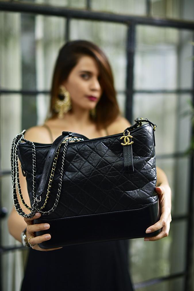 Chanel Gabrielle Bag | Akanksha Redhu bag focus front