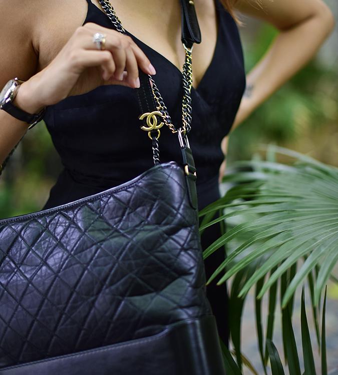 Chanel Gabrielle Bag | Akanksha Redhu chain closeup