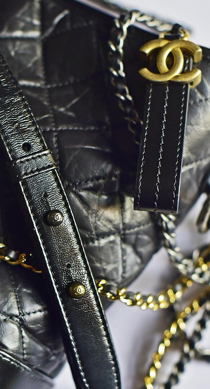 Chanel Gabrielle Bag | Akanksha Redhu stud details