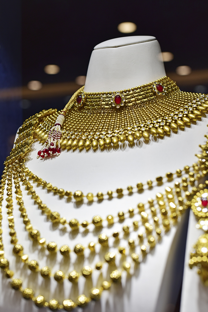 Rivaah by Tanishq | Akanksha Redhu | multi strand necklace