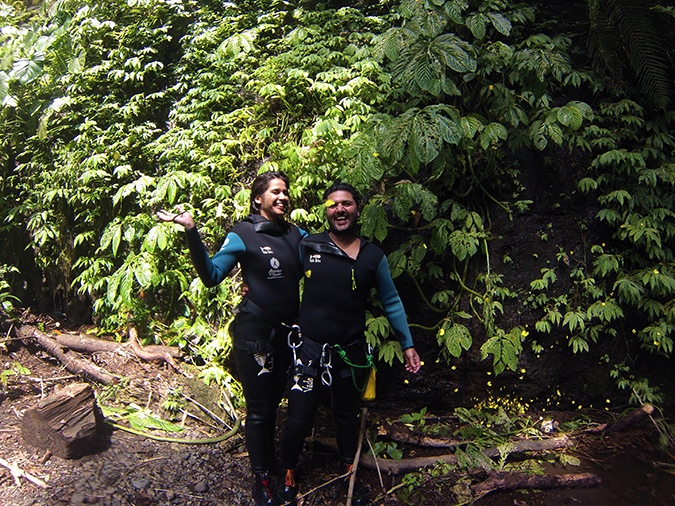 Canyoning in Bali | Akanksha Redhu | butterfly shot