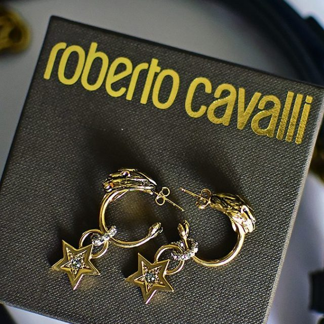 RedhuxLuxury  Earrings to make Monday bearable robertocavalli Love love!hellip