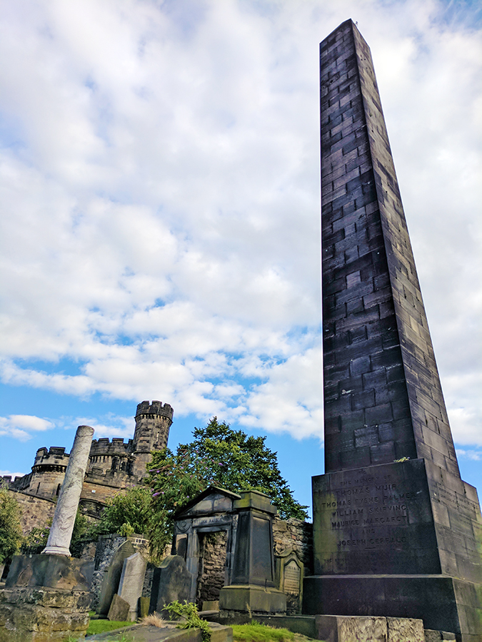Edinburgh | Akanksha Redhu | long pillar burial ground