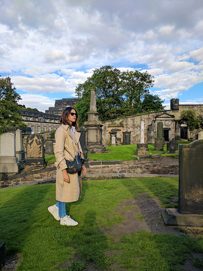 Edinburgh | Akanksha Redhu | ootd in burial ground