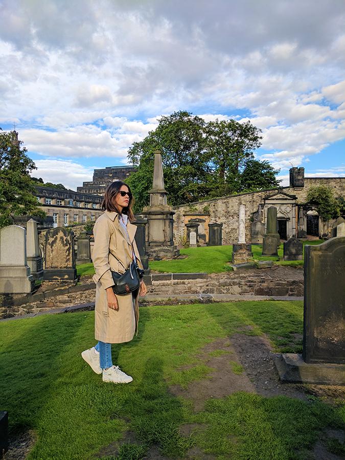 Edinburgh | Akanksha Redhu | ootd in burial ground
