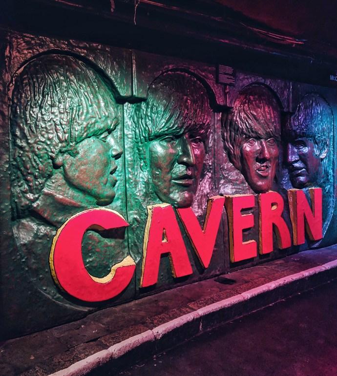 Must See Liverpool | Akanksha Redhu | Visit Britain | inside cavern club