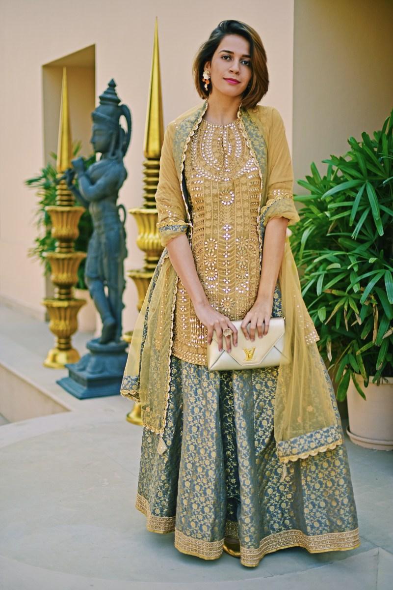 Modern Begum { Heena Kochhar + LV + Nirwaana Jewelry }