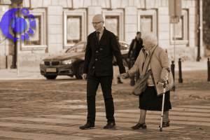 車と歩行者