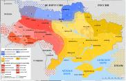 Map of Ukrainian dialects @ Wikipedia