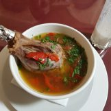 Lamb Shank Soup @ Chaikhona Bukhara, Moscow [2020]