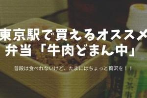 東京駅弁当牛肉どまん中