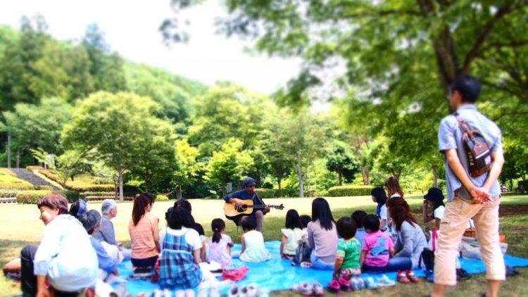森のシンガーソングライターライブ