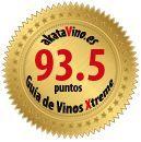 Sello de Oro con 90 o +  puntos de la Guía de Vinos Xtreme certificados por akatavino.es