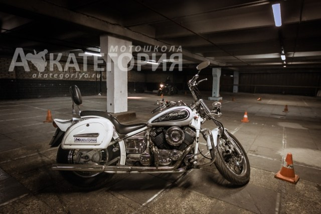 Курс на чоппере Yamaha drag star 400