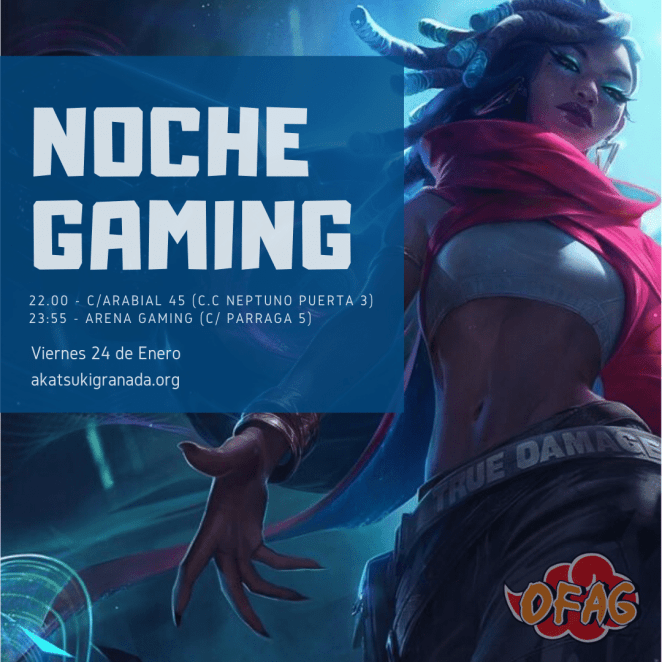 19º Noches Gaming - cartel Senna LoL