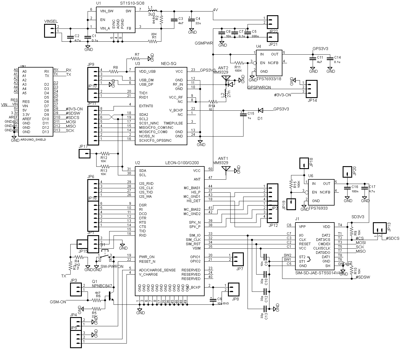 Cnc Shield Schematic