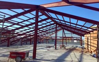 Çelik çatı