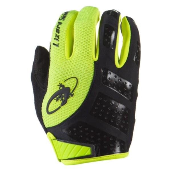 Rękawiczki LIZARDSKINS MONITOR SL długi palec żółte (Jet Black/Neon)