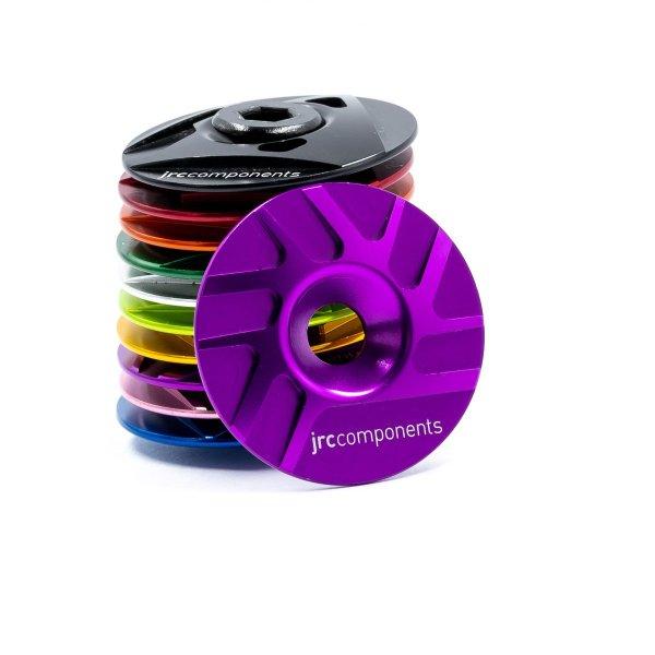 "Kapa sterów 1 1/8"" JRC Components - Pathway Design - fioletowe /purple/"