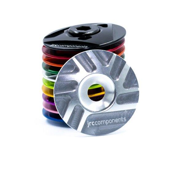 "Kapa sterów 1 1/8"" JRC Components - Pathway Design - srebrne /silver/"