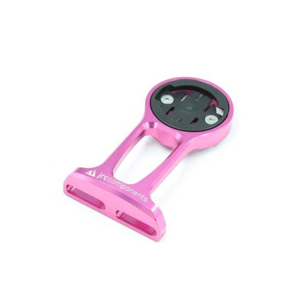 Uchwyt licznika JRC Components - do Wahoo - Przednie mocowanie do mostka - różowy /pink/