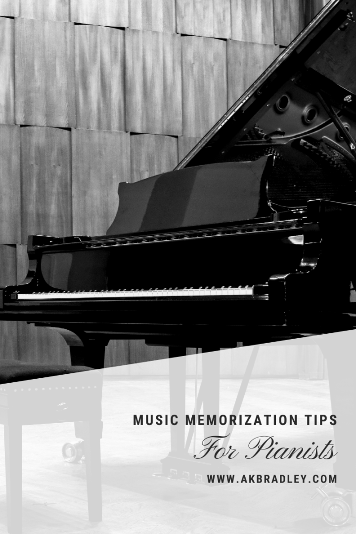 Music Memorization For Pianists