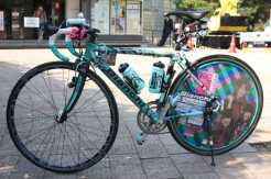 idol car,bicycle,痛車,痛チャリ