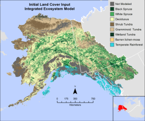 vegetation types map of alaska