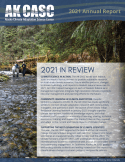 cover of the 2021 AK CASC annual report