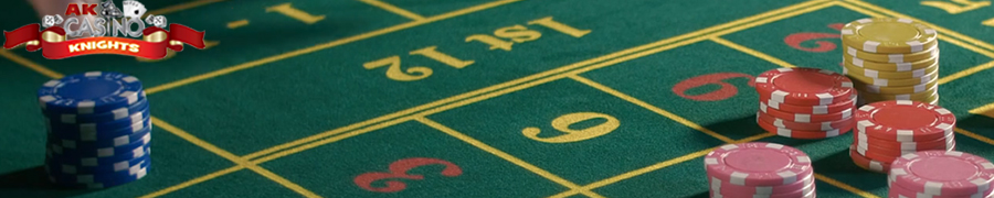 roulette being played at A K Casino Knights