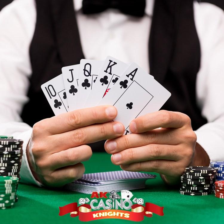 A K Casino Knights casino hire for TV