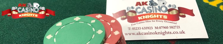 Professional casino hire at A K Casino Knights book the best