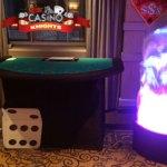 Casino stud poker table hire