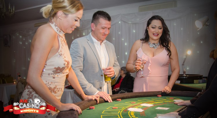 Wedding casinos players at blackjack table