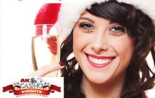 Christmas party bookings at A K Casino Kknights