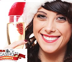 Christmas party bookings at A K Casino Kknights