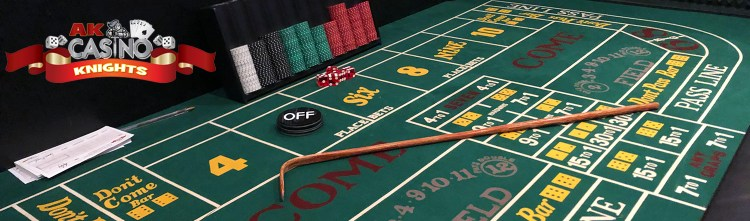 A K Casino Knights craps hire