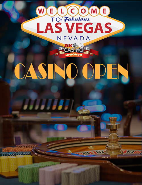 Casino banner hire casino open A K Casino Knights