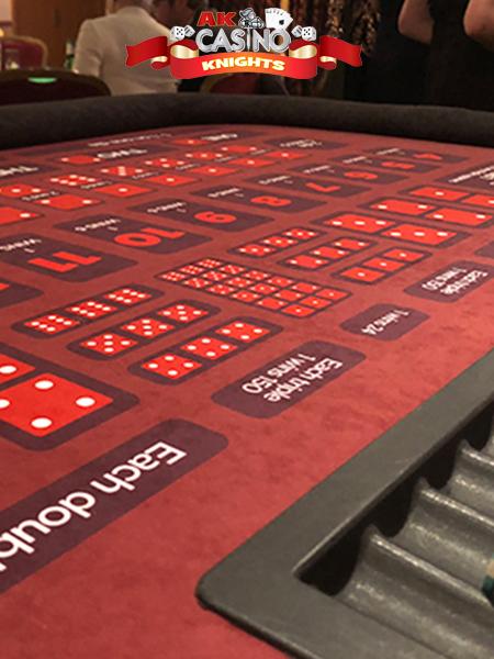 Sic Bo Casino table hire suffolk