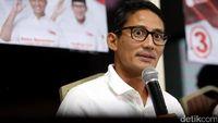 Sandiaga: Pak Prabowo Puas dengan Debat Semalam