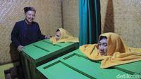 Foto: Leuhang, sauna tradisional khas Sunda (Wisma/detikTravel)